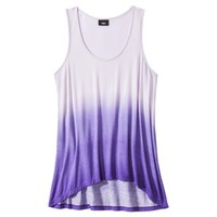 Mossimo® Women's Sleeveless Dip Dye Tank Top - Assorted Colors