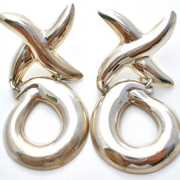 Taxco Hugs & Kisses XO Earrings Sterling Silver