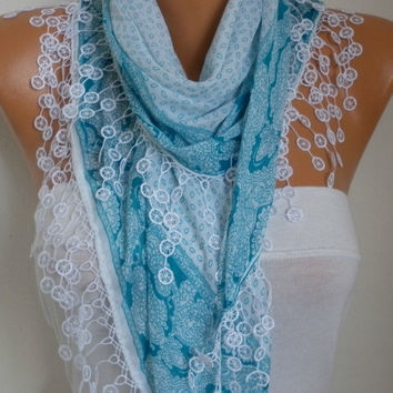 Scarf Fall Winter Accessories Cotton Scarf - Necklace Cowl Gift Ideas For Her Women Fashion Accessories Christmas Gift