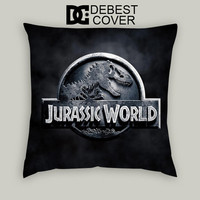 Jurasic World Dinosaurs Pillow Cases Square Available In 16 x 16 Inches 18 x 18 Inches 20 x 20 Inches