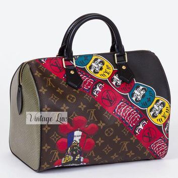 DCCK8TS New Louis Vuitton Kabuki Lim. Ed. Speedy 30 SOLD OUT