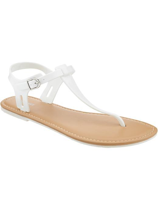 Old Navy Womens T Strap Jelly Sandals From Old Navy