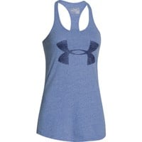 Under Armour Women's Big Logo Tri-Blend Graphic Tank Top