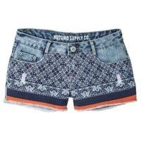 Mossimo Supply Co. Juniors Printed Denim