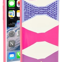 Women's kate spade new york 'oversized bow' iPhone 6 case - Pink