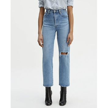 Levis Ribcage Denim Crop