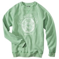 Men's Irish St. Patrick's Day Burnout Fleece - Green