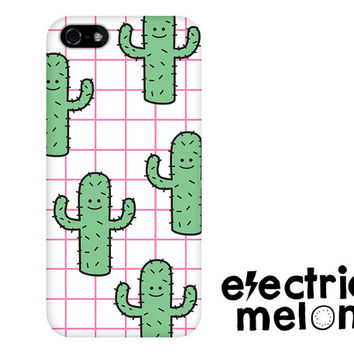 CACTUS Phone Case, mexican iphone 5 case, 90s grid, cactus iphone 6 case, iphone 5c phone case cute phone case