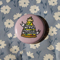 Pizza Princess- 1 Inch Button