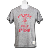 The Original Retro Brand WI Bucky T-Shirt (Carcoal) | University Book Store