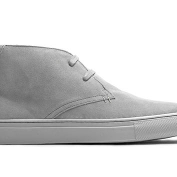 The Royale Chukka - Nimbus Grey Suede
