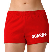 Sporti Guard Women's Thick Knit Jersey Short at SwimOutlet.com