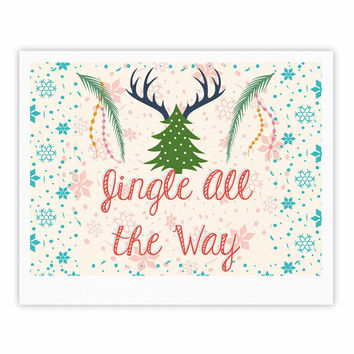 "Famenxt ""Jingle All The Way"" Holiday Digital Fine Art Gallery Print"