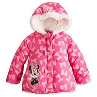 Minnie Mouse Puffy Jacket for Girls - Personalizable | Disney Store
