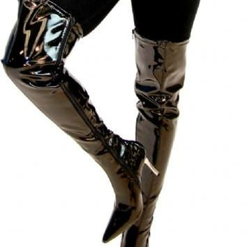Batman The Dark Knight Catwoman Women's Black Boots