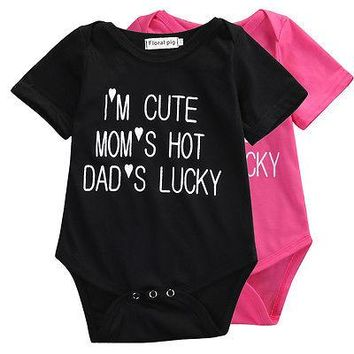Newborn Kids Baby Infant Boy Girl Romper Toddler Girl Boys clothing Cotton Summer Little Baby Jumpsuit Clothes