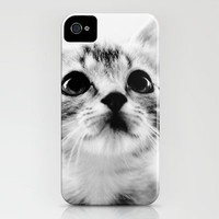 Sweet Kitten iPhone Case by Erin Johnson | Society6