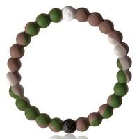 Lokai Bracelet with 4 Sizes and 3 Colors (M, Camouflage)