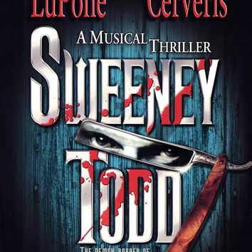 Sweeney Todd 11x17 Broadway Show Poster