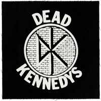 Dead Kennedys Men's DK Logo Cloth Back Patch Black