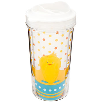 Chicks Easter Double Wall Acrylic Kids Tumbler With Lid