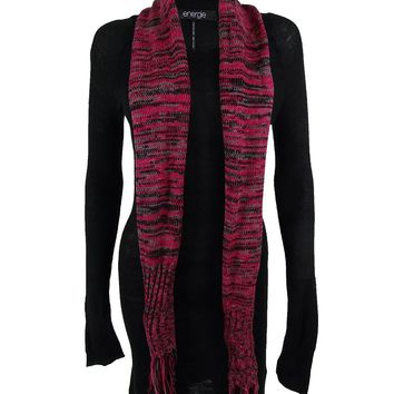 Energie Junior's Long Sleeve Tunic Sweater Dress & Scarf
