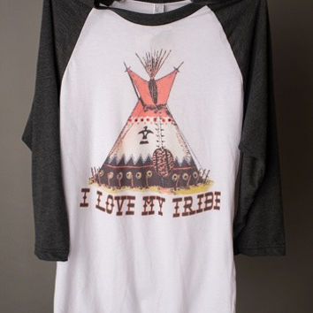"Gina ""I Love My Tribe"" 3/4 Tee"