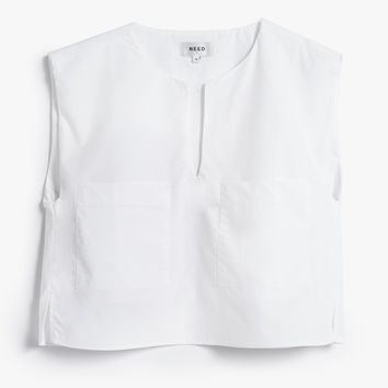 NEED / Duo Top in White