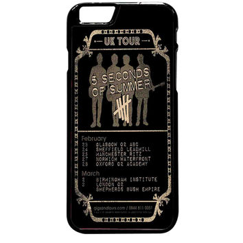 UK Tour 5sos For iPhone 6 Plus Case *ST*