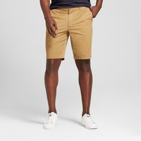 "Men's 10.5"" Linden Flat Front Chino Shorts - Goodfellow & Co™"