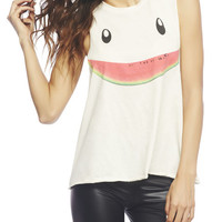 Watermelon Smile Tank | Wet Seal