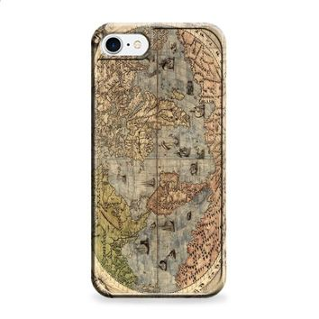 Old Retro World Map iPhone 6 | iPhone 6S case