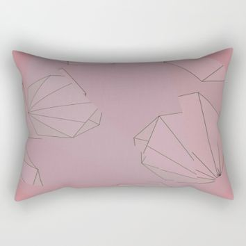 Shapes Shifted Rectangular Pillow by Ducky B