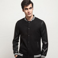 Winter Men's Fashion Slim Thicken Men Jacket [6541373251]