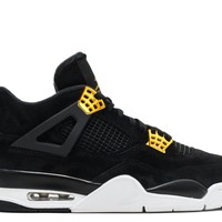 "AIR JORDAN 4 RETRO ""ROYALTY"" BASKETBALL SNEAKER"