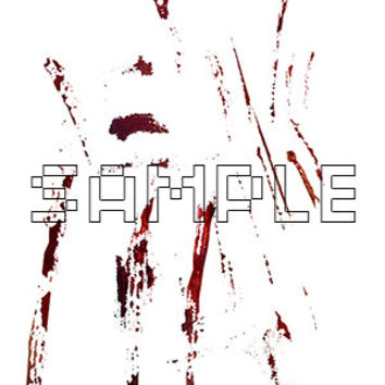 Blood and Scratches Cuts Real Blood Texture Graphic PSD File Layers Halloween Horror Resources Photoshop Editing