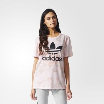 adidas Pastel Rose Printed Tee - Multicolor | adidas US
