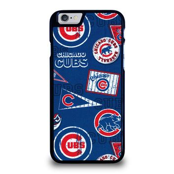 CHICAGO CUBS COLLAGE iPhone 6 / 6S Case Cover