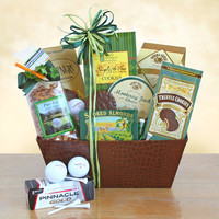 Just Golf Fun Gift Basket For Him