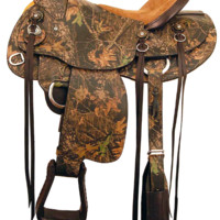 American Saddlery Mossy Oak Wade Trail Saddle