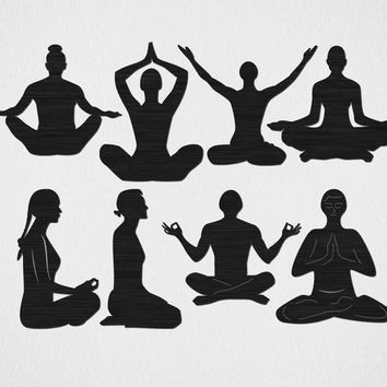 Free Yoga and Relaxation Free DXF file