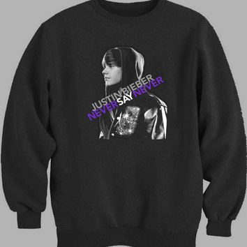 Justin Bieber Never Say Never Sweater for Mens Sweater and Womens Sweater ***