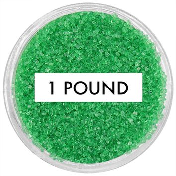 Emerald Green Sanding Sugar 1 LB