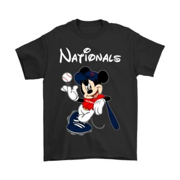 DCCKON7 Baseball Mickey Team Washington Nationals Shirts