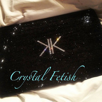 Swarovski Bedazzled Kim Kardashian's Macbook by CrystalFetishBling