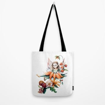 Autumn Fairy Tote Bag by CW Studio