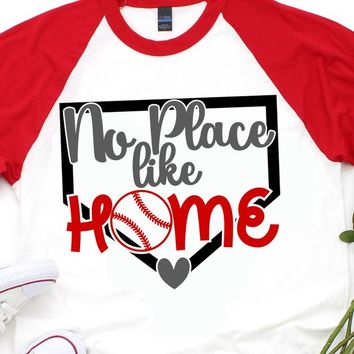 No Place Like Home svg,Baseball Base svg,Home Base svg,baseball,Heart svg,baseball tshirt,Home svg,Baseball mom shirt,baseball svg
