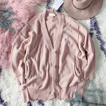 Saturday Morning Sweater in Dusty Blush