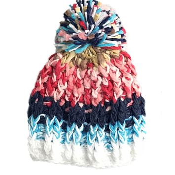 Colorful Chenille Beanie Woman Hat Winter Hats For Women Knitted Skullies Beanies Cappeli Da Donna Gorros Mujer Invierno Bonn