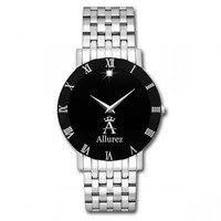 Allurez Diamond Solitaire Dial Fashion Watch for Men - Allurez.com